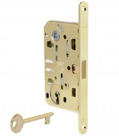 Магнитна брава за интериорна врата - Медиана Поларис - месинг