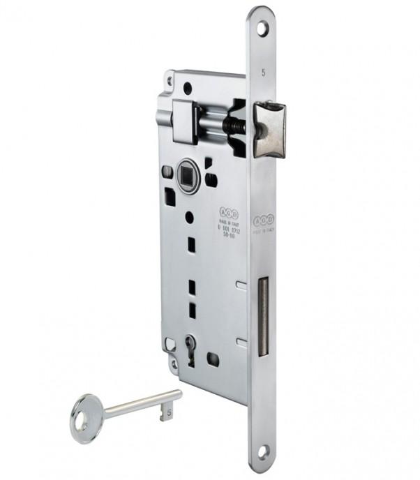 Брава за интериорна врата - Гранде - никел
