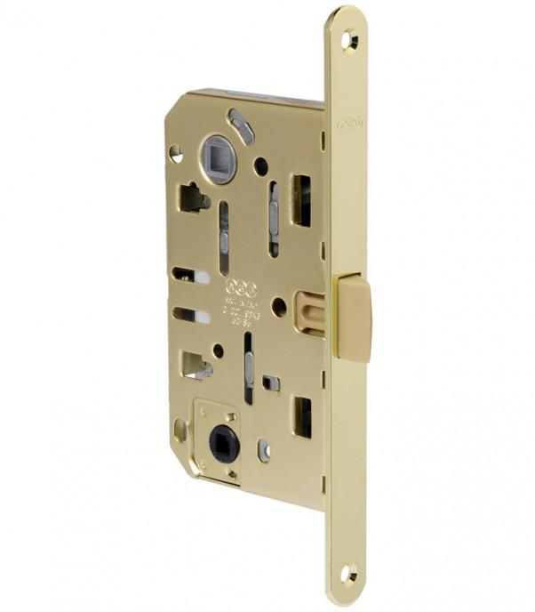Брава за интериорна врата WC - Медиана Еволюшън - месинг