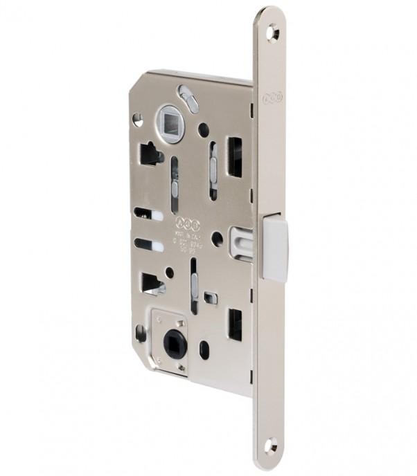 Брава за интериорна врата WC - Медиана Еволюшън - никел