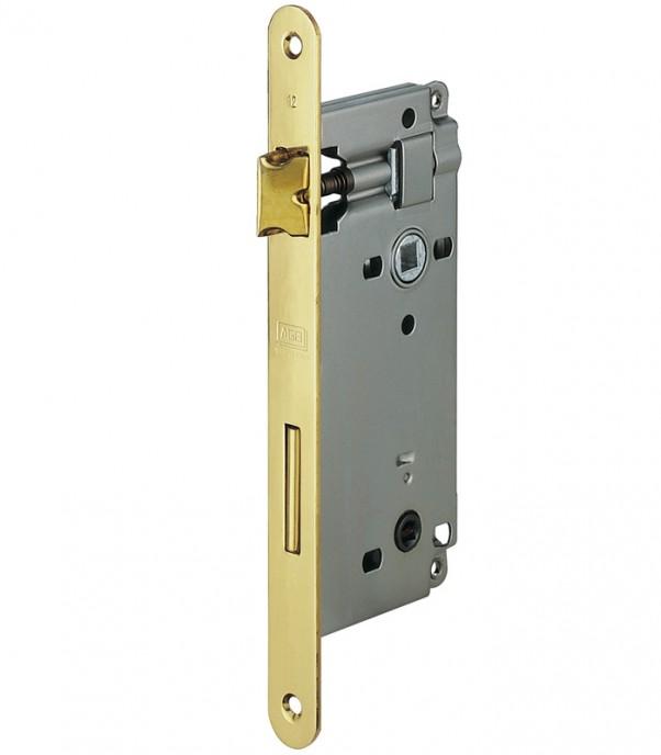 Брава за интериорна врата WC - Гранде - месинг