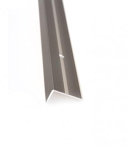 Ръб за стъпало с отвори модел за последващ монтаж - бронз