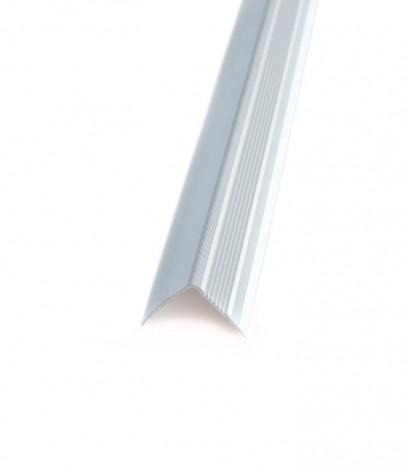 Ръб за стъпало последващ монтаж модел 20175 - сребро мат
