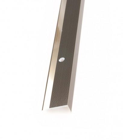 Ръб за стъпало с отвори последващ монтаж - бронз