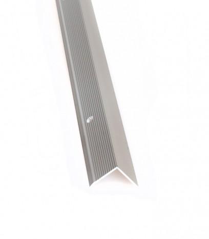 Ръб за стъпало с отвори последващ монтаж - светъл бронз