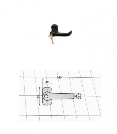 Антипаник брава - Дръжка с патрон за заключване
