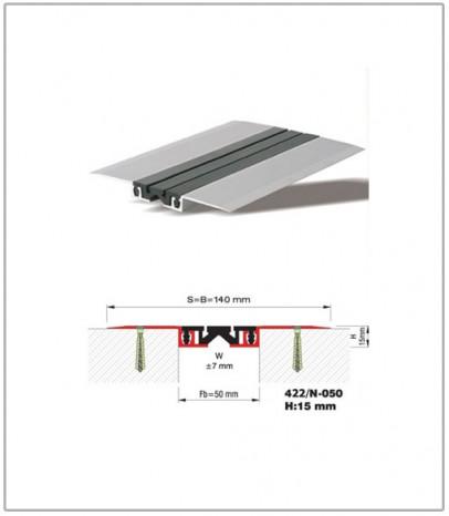 Дилатационна фуга - подова - профил 422/N-50