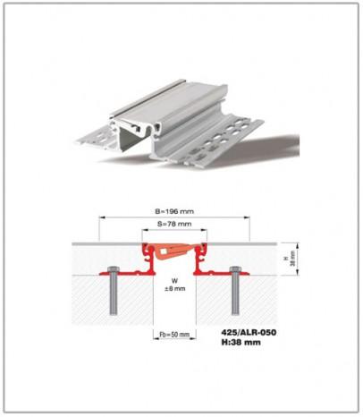 Дилатационна фуга - подова - профил 425/ALR 50