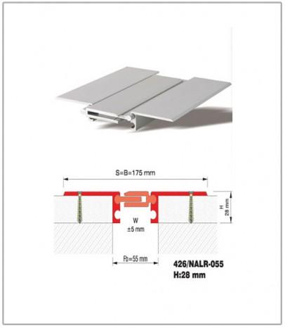 Дилатационна фуга - подова - профил 426/NALR 55