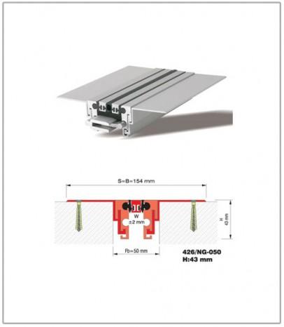 Дилатационна фуга - подова - профил 426/NG 50