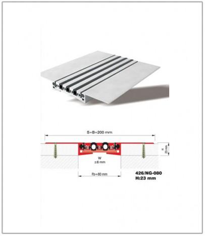 Дилатационна фуга - подова - профил 426/NG 80