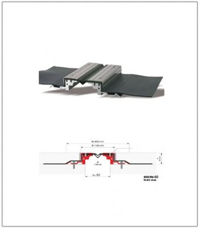Дилатационна фуга - сеизмична - профил 438/DS -100 Н23мм