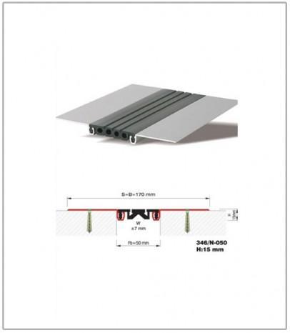 Дилатационна фуга - стенни и таванни - профил 346/N-50