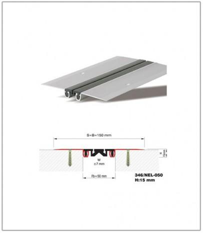 Дилатационна фуга - стенни и таванни - профил 346/NEL- 50