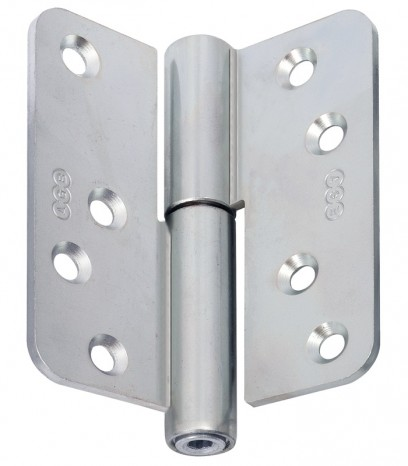 Регулираша панта за безфалцова врата R60 ф16 Лява(Sx) - никел