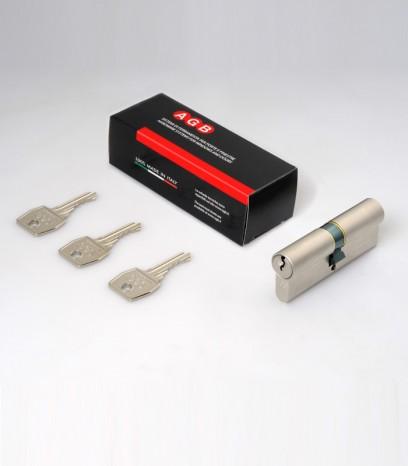 Обикновен секретен патрон за врата модел 600 - никел