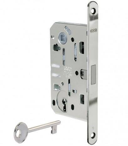 Магнитна брава за интериорна врата - Медиана Поларис - никел