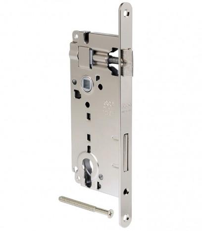 Брава за входна врата - Гранде - никел