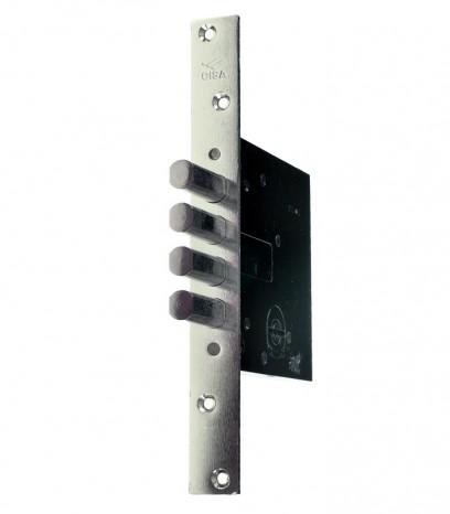 Брава за входна врата - касова допълнителна CISA  - никел