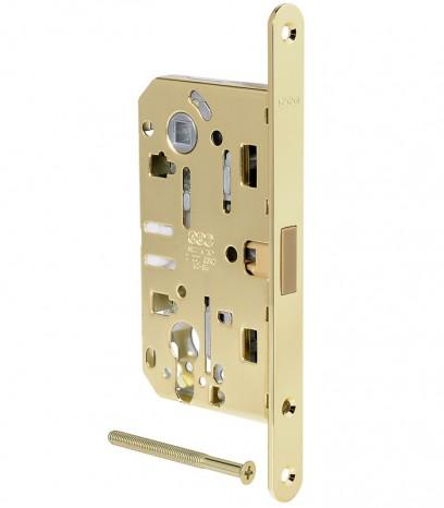 Магнитна брава за входна врата - Медиана Поларис - месинг