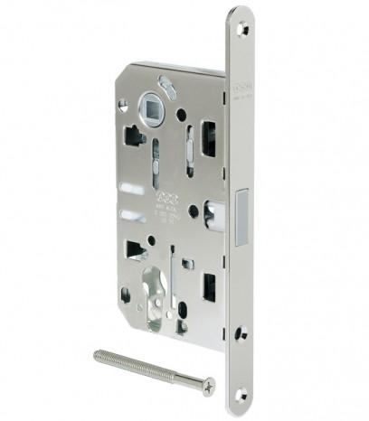 Магнитна брава за входна врата - Медиана Поларис - никел