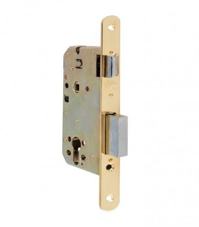 Брава за входна врата - АМИГ - месинг