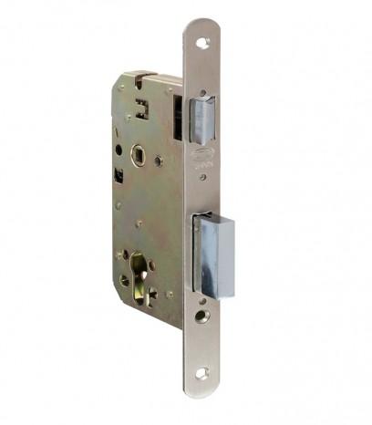 Брава за входна врата - АМИГ - никел