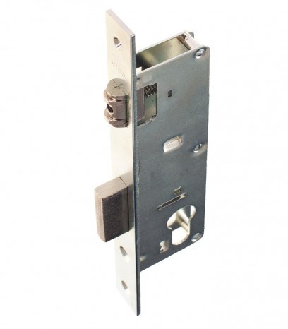 Брава за алуминиева и PVC дограма - CISA шнапер секретен патрон - никел