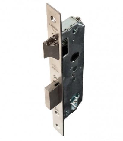 Брава за алуминиева и PVC дограма - CISA с език секретен патрон - никел
