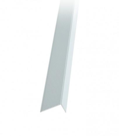 Ръб за стапало последващ монтаж - сребро мат