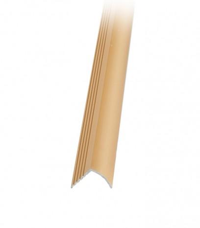 Ръб за стапало последващ монтаж - злато мат