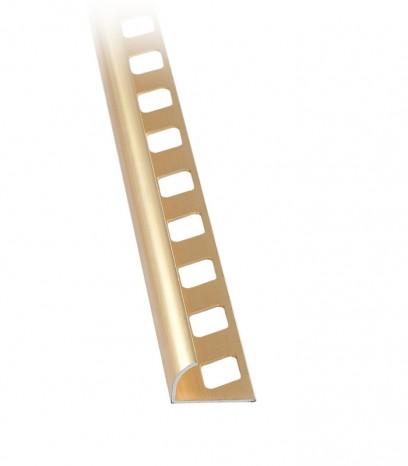 Външен завършващ ъгъл - злато мат