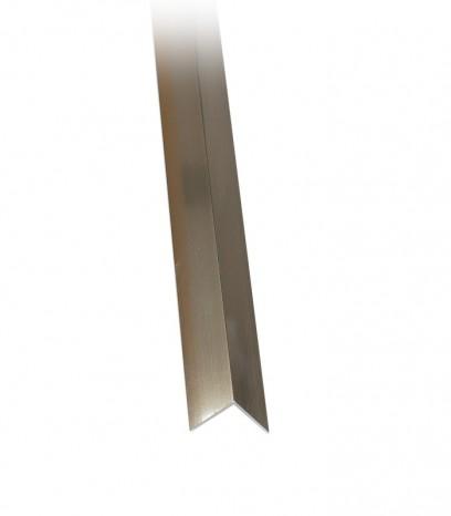 Ъгъл за стена последващ монтаж - бронз полир