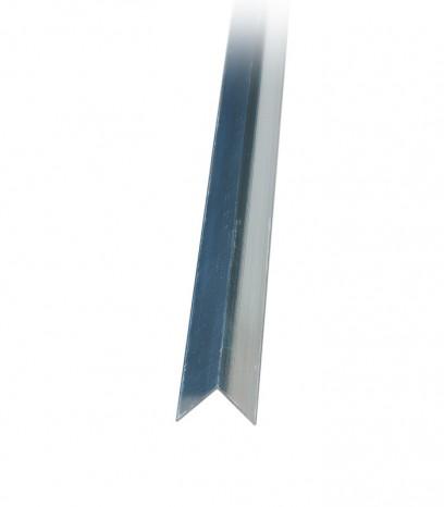 Ъгъл за стена последващ монтаж - сребро полир