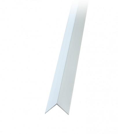 Ъгъл за стена последващ монтаж - сребро мат