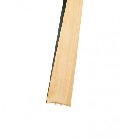 Преходна подова лайсна - скрит монтаж за равен преход - месинг