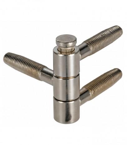 Панта за фалцова врата Ануба Триа 1401406 - никел