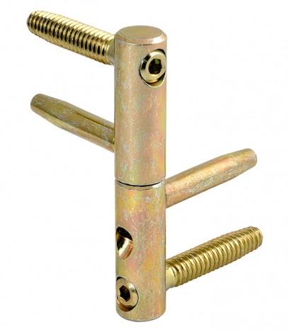 Панта 3D регулираща за фалцова врата 11501404 - цинк тропикал