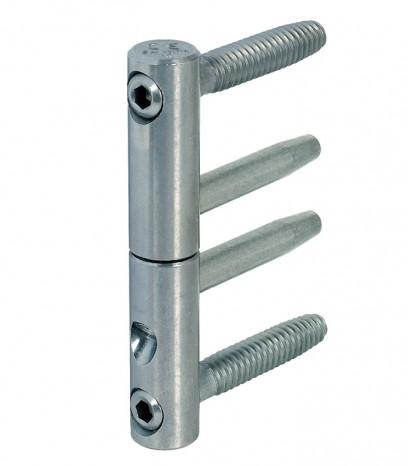 Панта 3D регулираща за фалцова врата 11501415 - силвър цинк