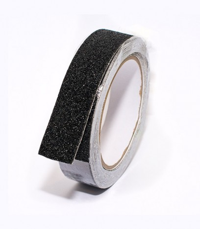 Противоплъзгаща самозалепваща лента - черна