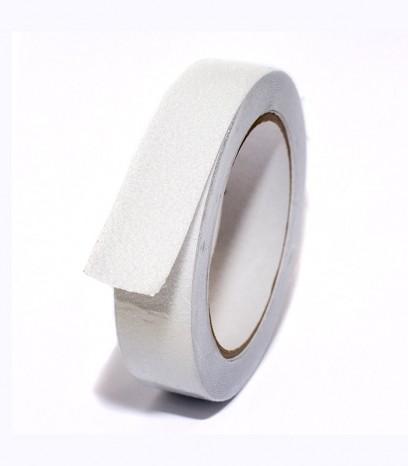 Противоплъзгаща самозалепваща лента - бяла