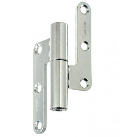 Регулираша панта за безфалцова врата R30 ф14 Дясна(Dx) - никел